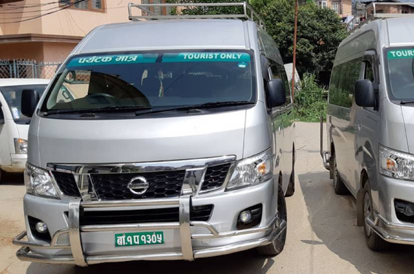 Hiace Rental in Nepal