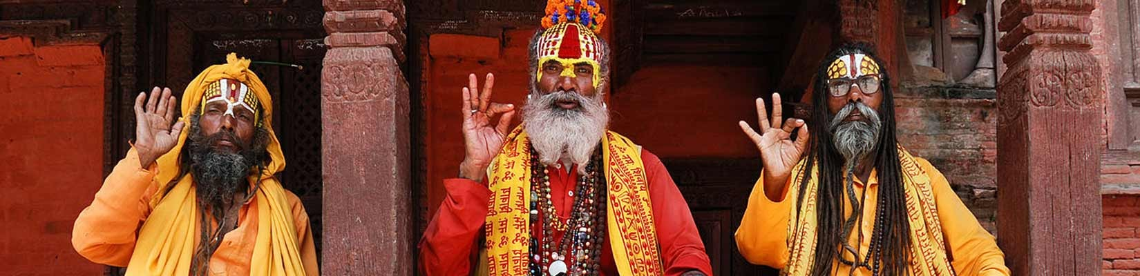 Sadhus at Pasupathinath Temple - One Day Tour in Kathmandu